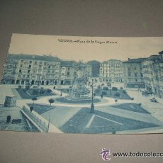 Postales: VITORIA PLAZA DE LA VIRGEN BLANCA . Lote 34376968