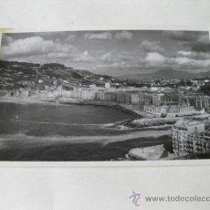 Postales: POSTAL FOTOGRAFICA DE SAN SEBASTIAN - BARRIO DE GROS - EDICIONES MATURANA. Lote 35069370