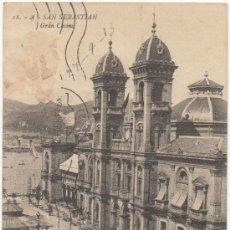 Postales: SAN SEBASTIAN.- GRAN CASINO. (C.1910).. Lote 34955604