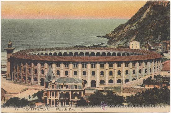 SAN SEBASTIÁN.- PLAZA DE TOROS. (Postales - España - Pais Vasco Antigua (hasta 1939))