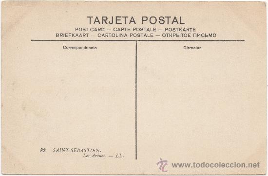 Postales: SAN SEBASTIÁN.- PLAZA DE TOROS. - Foto 2 - 34963557