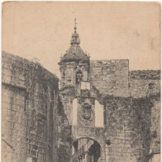 Postales: FUENTERRABIA.- PUERTA PRINCIPAL. (C.1905).. Lote 35197050