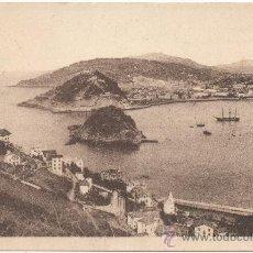 Postales: SAN SEBASTIÁN.- VISTA DESDE EL MONTE IGUELDO. (C.1930).. Lote 35197994