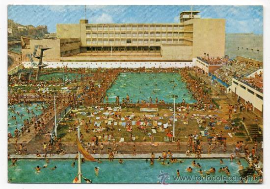 Portugalete piscinas municipales comprar postales del pa s vasco en todocoleccion 35354598 - Piscinas de portugalete ...