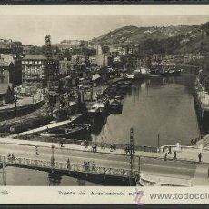 Postales: BILBAO - 205 - PUENTE DEL AYUNTAMIENTO Y RIA - MADYMA - (12.548). Lote 35375979