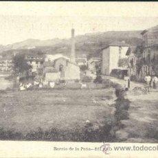 Postales: BILBAO (VIZCAYA).- BARRIO DE LA PEÑA. Lote 35443362