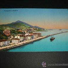 Postales: PORTUGALETE Y SANTURCE VIZCAYA ANTIGUA POSTAL . Lote 35479477