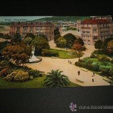 Postales: BILBAO PLAZA ELIPTICA ANTIGUA POSTAL. Lote 35479496