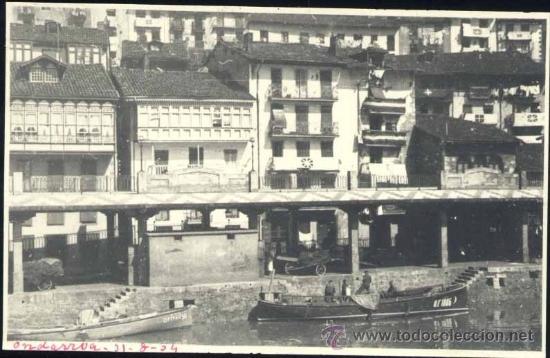 ONDARROA (VIZCAYA).- POSTAL FOTOGRÁFICA (Postales - España - Pais Vasco Antigua (hasta 1939))