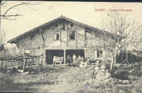 Bilbao vizcaya caserio becoeche comprar postales - Caserios pais vasco ...