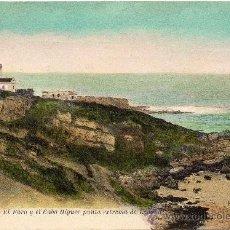 Postales: FUENTERRABIA, EL FARO Y EL CABO HIGUER, PUNTA EXTREMA DE ESPAÑA,EDIT.RENE. Lote 36232783