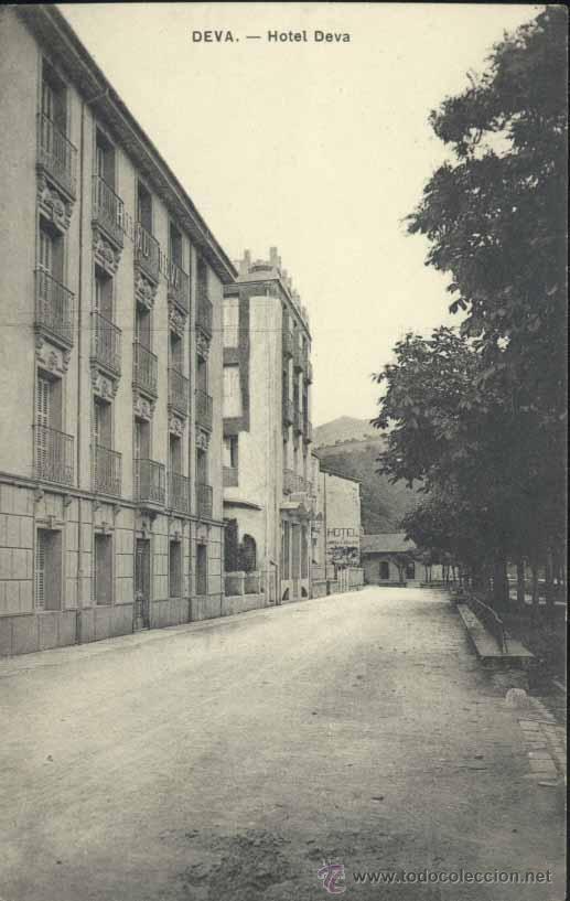 DEVA (GUIPUZCOA).- HOTEL DEVA (Postales - España - Pais Vasco Antigua (hasta 1939))