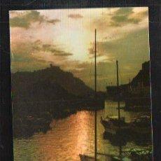 Postales: TARJETA POSTAL DE SAN SEBASTIAN - EFECTOS DE SOL EN EL PUERTO. 84. GALARZA.. Lote 36236723