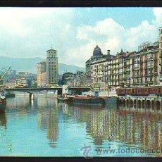 Postales: TARJETA POSTAL DE BILBAO - RIA. MUELLE DE RIPA. 2. GARCIA GARRABELLA. Lote 36361924
