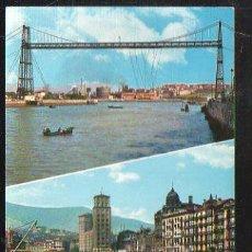 Postales: TARJETA POSTAL DE BILBAO - VISTAS DE LA RIA. 48. GARCIA GARRABELLA. Lote 36362019