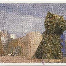 Postales: JEFF KOONS. PUPPY, 1992. ACERO INOXIDABLE, SUSTRATO Y PLANTAS EN FLORACIÓN. MUSEO GUGGENHEIM BILBAO.. Lote 36406775
