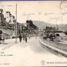 Postales: TARJETA POSTAL SAN SEBASTIAN- REAL CASA DE CAMPO . Lote 36886514