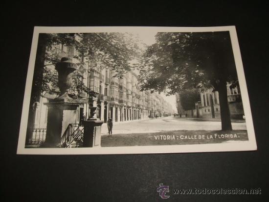VITORIA CALLE DELA FLORIDA (Postales - España - Pais Vasco Antigua (hasta 1939))