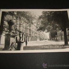 Postales: VITORIA CALLE DELA FLORIDA. Lote 36910958