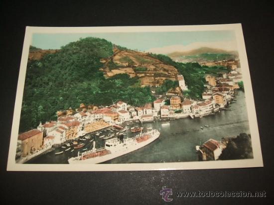 PASAJES GUIPUZCOA VISTA DE SAN JUAN (Postales - España - Pais Vasco Antigua (hasta 1939))