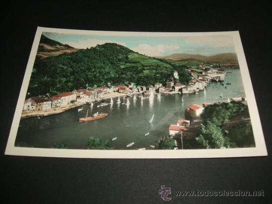 PASAJES GUIPUZCOA PUERTO DE SAN JUAN (Postales - España - Pais Vasco Antigua (hasta 1939))