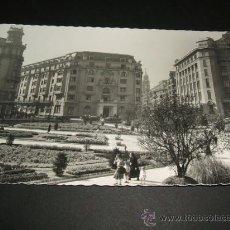 Postales: BILBAO VIZCAYA PLAZA DE FEDERICO MOYUA HOTEL CARLTON. Lote 36926999