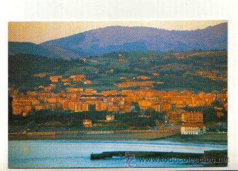 POSTAL SIN CIRCULAR DE GORLIZ VIZCAYA VISTA GENERAL (Postales - España - País Vasco Moderna (desde 1940))