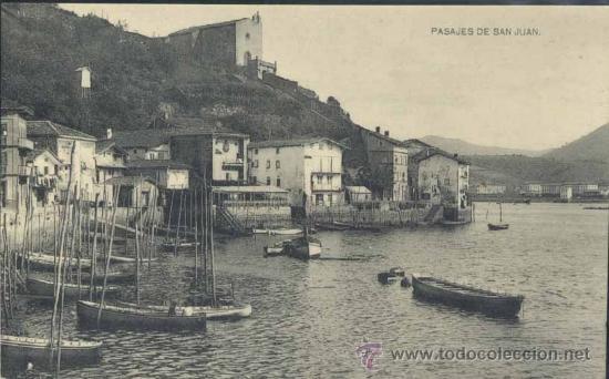 PASAJES DE SAN JUAN (GUIPUZCOA) (Postales - España - Pais Vasco Antigua (hasta 1939))