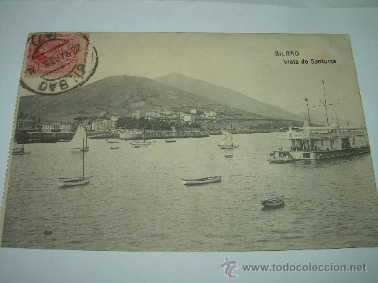 ANTIGUA POSTAL....BILBAO (Postales - España - País Vasco Moderna (desde 1940))