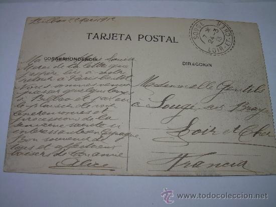 Postales: ANTIGUA POSTAL....BILBAO - Foto 3 - 37394952