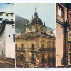 Postales: ERMUA. 1. ASPECTOS DE LA POBLACIÓN. FOTO GAR, ZARAUZ. CIRCULADA. Lote 37396368