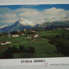 Postales: POSTAL SIERRA DE ARALAR OLABERRIA Y EL MONTE TXINDOKI NUEVA SIN CIRCULAR. Lote 37463260