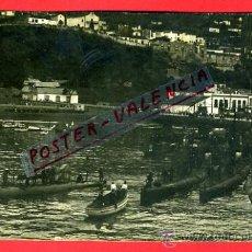 Postales: POSTAL SAN SEBASTIAN , PUERTO PAJARES , SUBMARINOS SUECOS 1927, FOTOGRAFICA , ORIGINAL , P77393. Lote 37555100