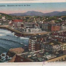 Postales: POSTAL-SAN SEBASTIAN-BARRIO GROS. Lote 37891319