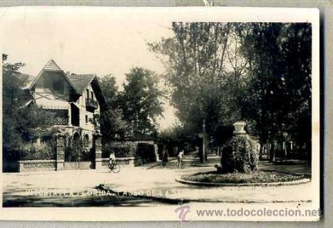 VITORIA - LA FLORIDA - CIRCULADA 1938 (Postales - España - Pais Vasco Antigua (hasta 1939))