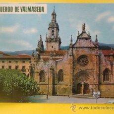 Postais: POSTAL DE VIZCAYA. AÑO 1968. VALMASEDA, IGLESIA DE SAN SEVERINO. 824. . Lote 38194722