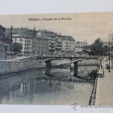 Postales: POSTAL. BILBAO. PUENTE DE LA MERCED. L... Lote 38864777