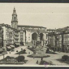 Postales: VITORIA - PLAZA DE LA VIRGEN BLANCA - (17267). Lote 38889305