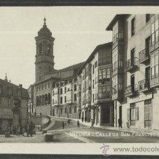 Postales: VITORIA - CALLE DE S.FRANCISCO - (17269). Lote 38889350