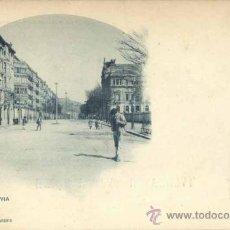 Postales: BILBAO (VIZCAYA).- GRAN VÍA. Lote 38950835