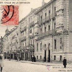 Postales: VITORIA. CALLE ESTACIÓN. L. LARRAÑAGA. Lote 39122270