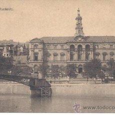 Postales: PS0938 BILBAO 'AYUNTAMIENTO'. ED. LIBRERÍA E. VERDES. CIRCULADA EN 1922. Lote 39200165