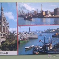 Postales: VISTAS DE BILBAO. ED. GARCÍA GARRABELLA. Lote 39370620
