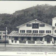 Postales: OLABERRIA- BEASAIN (GUIPUZCOA).- HOSTAL CASTILLO. Lote 39396083