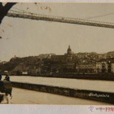 Postales: FOTOGRAFIA ANTIGUA- BILBAO -PORTUGALETE. Lote 39409186