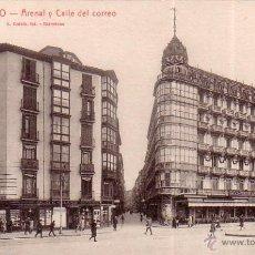 Postcards - POSTAL ANTIGUA DE BILBAO Nº 85 ARENAL Y CALLE DEL CORREO... L. ROISIN - 39499919