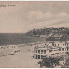 Postales: BILBAO- ALGORTA.- SU PLAYA Y BALNEARIO.. Lote 39500807