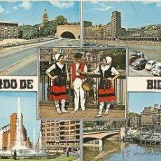 Postales: POSTAL: BILBAO, VISTAS, ESCRITA. Lote 39831775