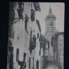Postales: POSTAL FUENTERRABIA CALLE DE LAS TIENDAS ED. TIBURCIO BERROTARÁN SIN CIRCULAR PPIOS S XX. Lote 39630688