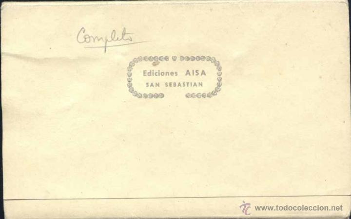 Postales: RECUERDO DE IRÚN (GUIPUZCOA).- 10 POSTALES EN ACORDEÓN - Foto 2 - 39658989